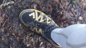 Feuilles humides, boues, chemins glissants, même pas peur !!!