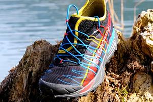 Cette chaussure La Sportiva est disponible chez nos partenaires. © Testeurs-Outdoor