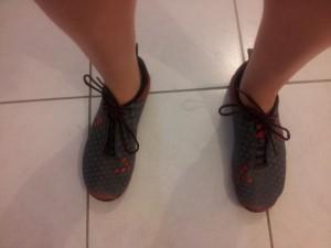 Voilà mes premières chaussures minimalistes !