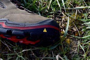 chaussures Keen Wanderer WP toe box