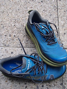 Voiilà les chaussures Hoka Bondi 4 ayant servi pendant ce test. © Testeurs-Outdoor