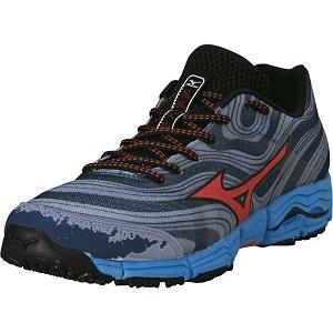 Les chaussures running Mizuno Wave Kazan vous plairont si vous pratiquez le trail. © Mizuno