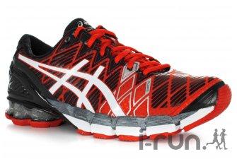 La chaussure de running Asics Kinsei ne parait pas si lourde que cela... © I-Run