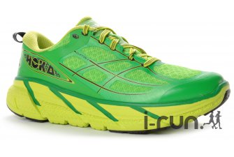 Ces chaussures running Hoka Clifton 2 existent en plusieurs coloris. © I-Run