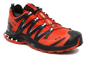 Voilà un des modèles de chaussures trail Salomon XA Pro 3D. © Salomon