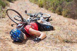 Blessure sport : Attention à ne pas finir comme ce cycliste !!!! © DollarPhoto