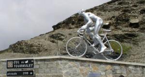Col du Tourmalet : Voilà l'objectif du jour....