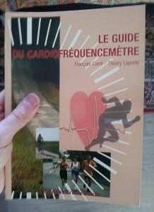 Voilà la couverture du guide du cardiofréquencemètre