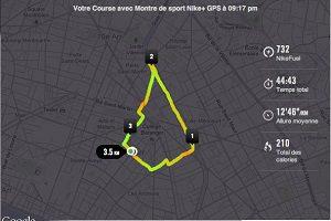 course a pied parcours