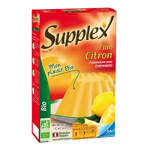 Supplex commercialise aussi des préparations pour flans. © Supplex