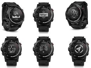 Cette montre GPS Garmin Fenix 2 offre de nombreuses possibilités. © Garmin