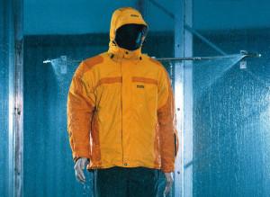veste Gore Tex : voilà le simulateur de pluie !