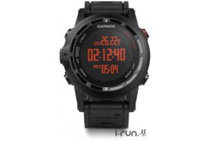 Comparatif montre GPS : J'avoue que la couleur orange sur fond noir m'attire bien. © I-Run