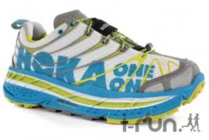 Voilà la chaussure course a pied Hoka, disponible chez notre partenaire I-Run