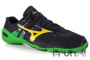 Chaussures minimalistes : Cette Mizuno avec son drop de 0 en est clairement une. Chez I-Run