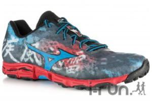 La chaussure Mizuno Trail Wave Hayate a un beau désign que j'aime bien, et vous ? © I-Run