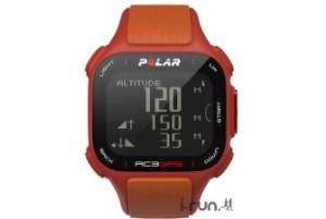 Polar RC3 : si vous l'aimez pas en couleur Tour de France, vous avez aussi le modèle rouge.