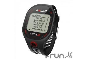 Ces montres GPS Cardio Polar RCX3 ont plusieurs atouts... © I-Run
