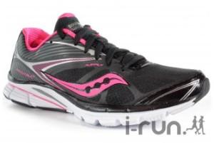 J'aime bien ce modèle là, est ce que les coureuses sont d'accord avec moi ? Les chaussures Saucony femmes sont aussi sur I-Run
