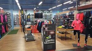 Voilà l'intérieur du magasin sport de Leclerc... @ Leclerc Sport
