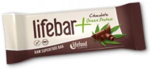 Alimentation et santé : une barre Lifebar en image.