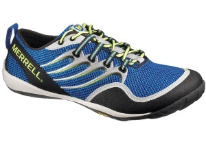 Chaussure minimaliste : Il s'agit du modèle de Merrell dont nous parlons dans l'interview.
