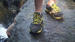 Mizuno Wave Ultima : Admirez les lacets jaunes...ça en jette non ?