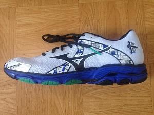 Vous pouvez voir la chaussure Mizuno Wave Inspire 10 utilisée pour les tests. © Testeurs-Outdoor
