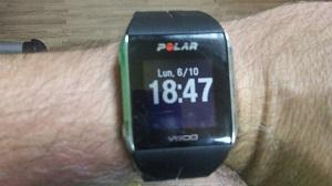 Voila ma montre GPS Polar V800 pour un test express ! © Testeurs Outdoor