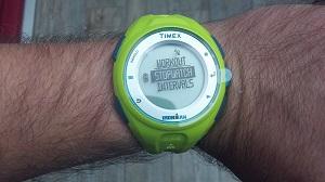 Voici cette montre GPS Timex Ironman run x20 © Testeurs-Outdoor
