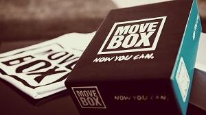 Une autre couleur pour cette boite qui vous veut du bien :) © Move Box