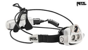 Cette lampe frontale Petzl peut avoir une puissance de 575 lumens. © Petzl