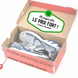 plan pour chaussures running pas cher