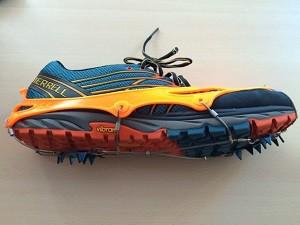 Vous pouvez voir ici cette chaine chaussures trail Nortec. © Testeurs-Outdoor
