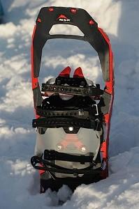 Voiçi les raquettes à neige MSR du test. © Testeurs-Outdoor