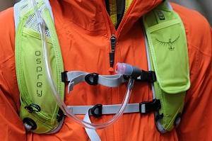 Vous pouvez maintenant voir les bretelles de ce sac a dos Osprey New Dev 6. © Testeurs-Outdoor