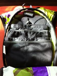 Je vous propose un petit tour à l'intérieur de ce sac à dos Oxsitis
