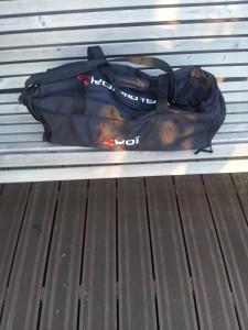 Voilà mon deuxième sac de sport,  de la marque Ekoi cette fois ci.