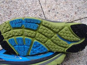 Qu'en est-il de l'usure pour ces crampons de la chaussure Hoka Bondi 4 ? © Testeurs-Outdoor