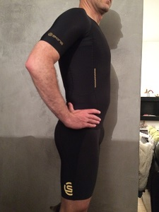 La tenue Skins A400 est très sobre, non ? © Testeurs Outdoor