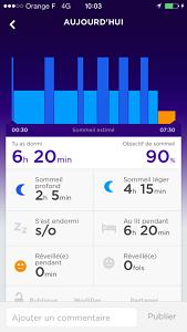 Vous pourrez mesurer votre sommeil avec le bracelet connecté Jawbone Up 24. © Testeurs-Outdoor