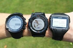 Montre GPS comparatif : qui a la plus grosse ? © dcrainmaker.com