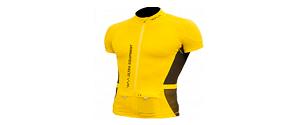 Ce tee-shirt running existe aussi en jaune. © WAA