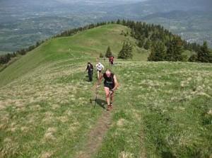 """Kilometre vertical : la course """" la verticale du Môle """" présente un joli panorama."""